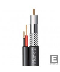 Абонентский коаксиальный кабель F 5967BVcu black-2x0.75power FinMark 100м
