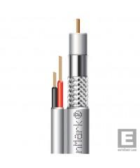 Абонентский коаксиальный кабель F 5967BV white-2x0.75power FinMark 100м