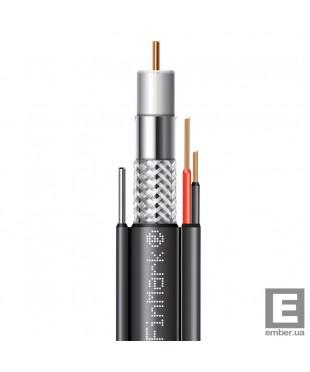 Абонентский коаксиальный кабель F 690BVMcu black-2x0.75power FinMark 305м