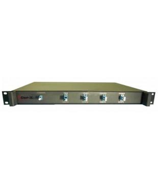 Мультиплексор/Демультиплексор СWDM-BiDi-04-08 wave, 4 канала по одному волокну, 8 длин волн