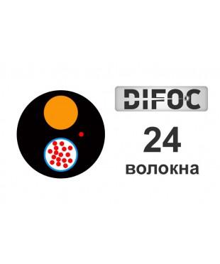 Оптический кабель DiFOC AirD-2*12E-1,6