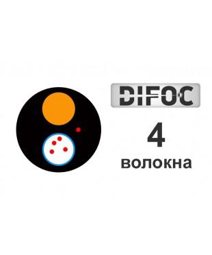 Оптический кабель DiFOC AirD-4E-1,5