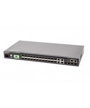 Коммутатор Edge-core ECS4120-28F (L2+, 20x1G SFP, 4x1G SFP/RJ45, 4x10G SFP+)