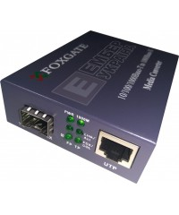 Медиаконвертер Foxgate MC-100-1000 SFP