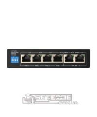POE Watchdog коммутатор FoxGate S6004-E2-AI POE (60W)