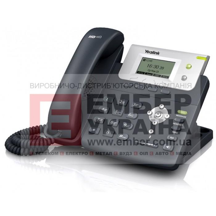 SIP-T21P E2 - 2 аккаунта, PoE