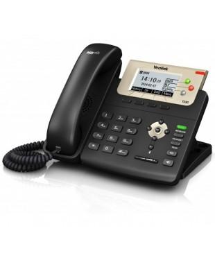 Телефон SIP-T23G, 3 аккаунта, BLF, PoE, GigE