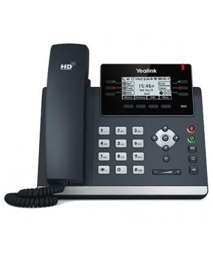 Телефон SIP-T41S, 6 аккаунтов, BLF,  PoE
