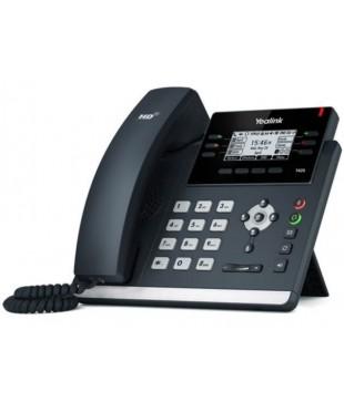 Телефон SIP-T42S, 12 аккаунтов, BLF, PoE, GigE