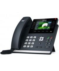 Телефон SIP-T46S, цветной экран, 16 аккаунтов, BLF,  PoE, GigE