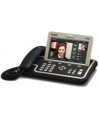 VP530 мультимедиа телефон, сенсорный экран, PoE, HD-голос, 2М пиксельная камера