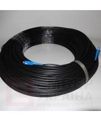 Патчкорд из круглого кабеля ОКТ-Д, 5,5мм (диэлектрик)