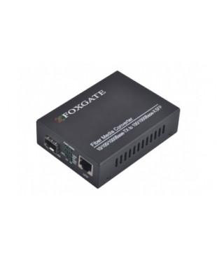 Медиаконвертор FoxGate EC-SFP1000-FE/GE-LFP