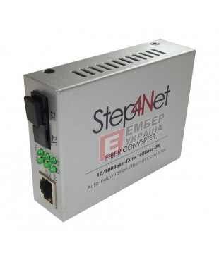Медиаконвертер SFP Step4Net 1SM-20SC 1550nm 20km