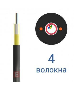 Оптический кабель ОКТ-Д (0,5)П-4Е1, 4 волокна (бывший EcoLight)