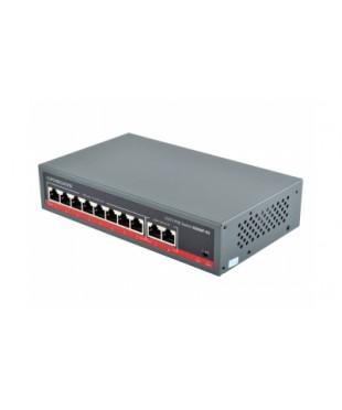 POE CCTV коммутатор FoxGate S5808P-E2