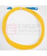 Патчкорд, sm, simplex, SC/UPC-LC/UPC, 3мм
