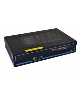 6-портовый коммутатор POE FoxGate S6006 (4 PoE+ x 100 Мбит/с)