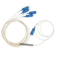 PLC сплиттер  оконеченный SC/UPC  1*4